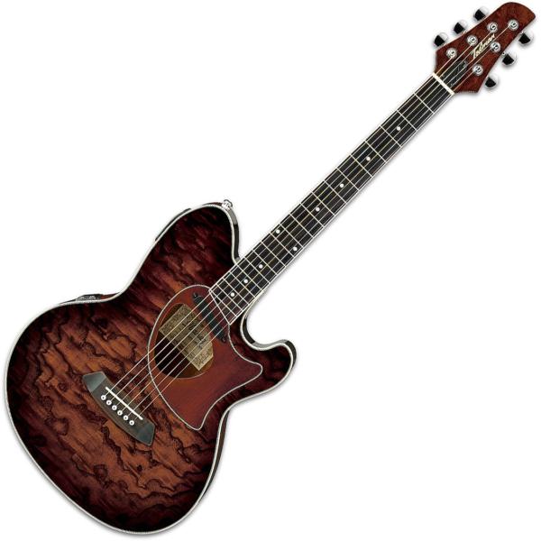 Ibanez TCM50E Electro Acoustic Guitar Vintage Brown Sunburst